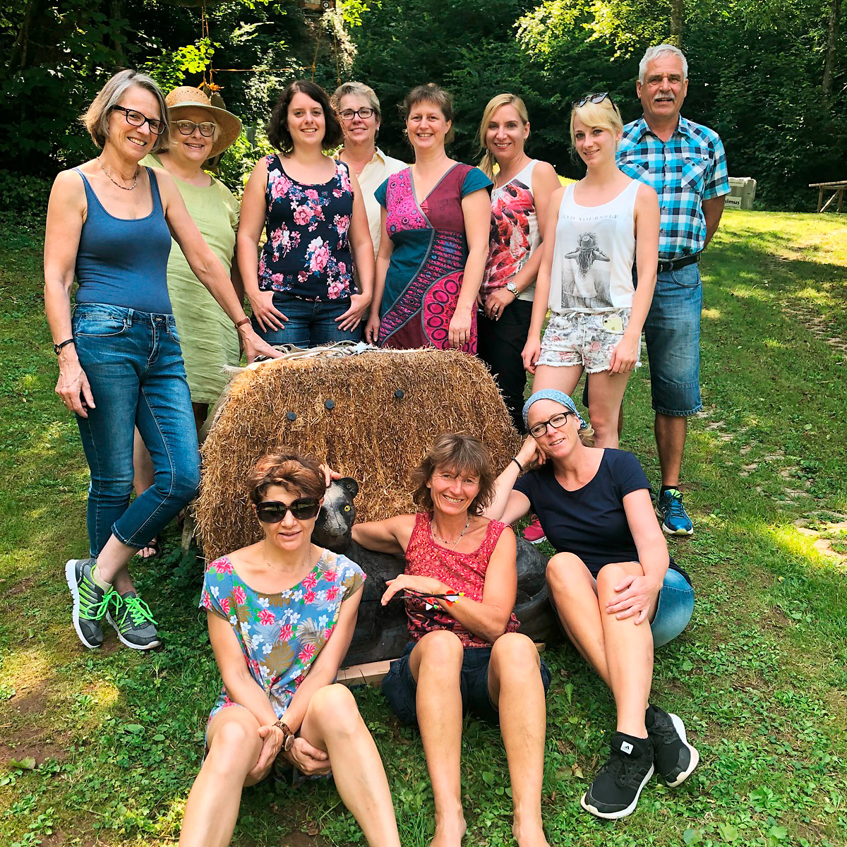 Ergotherapie Kraft und Flammer Team 2018