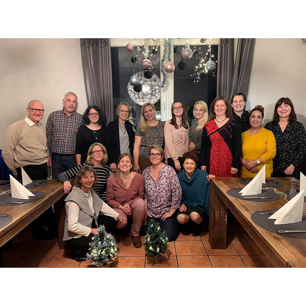Ergotherapie Kraft und Flammer Team 2019